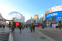 Piccadilly Circus Christmas Royalty Free Stock Photos