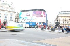 Piccadilly circus. Famous place in london Stock Image