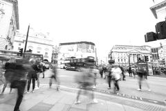 Piccadilly circus. Famous place in london Stock Photography