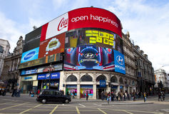 Piccadilly Circus in London Royalty Free Stock Photos