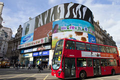 Piccadilly Circus in London Stock Photo