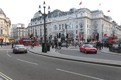 Piccadilly Circus London Stock Image