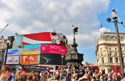 Piccadilly Circus, London Stock Images