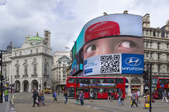 Piccadilly circus. Royalty Free Stock Images