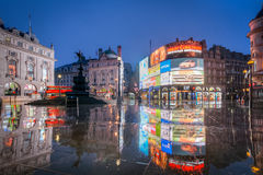 Piccadilly Circus, London, England Royalty Free Stock Images