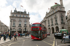 Piccadilly Circus in London Stock Image
