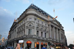 Piccadilly Circus in London Royalty Free Stock Photo