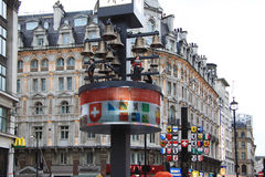 Piccadilly Circus - London - England Stock Photo