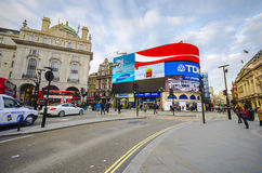 Piccadilly Circus in London Royalty Free Stock Image
