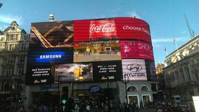 Piccadilly circus Stock Images