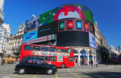 Piccadilly Circus in London Royalty Free Stock Photography