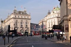 Piccadilly Circus London Royalty Free Stock Photography