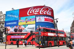 Piccadilly Circus Stock Image