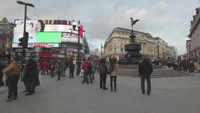 Piccadilly Circus stock video
