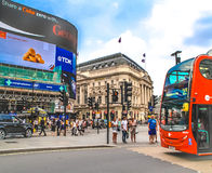 Piccadilly Circus, London. Stock Photography