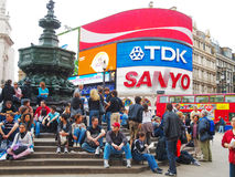 Piccadilly Circus, London Stock Image