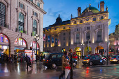 Piccadilly circus London Royalty Free Stock Image