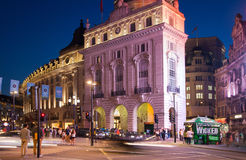 Piccadilly Circus in night. London. Stock Images