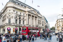 Piccadilly circus royalty free stock image