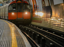 Piccadilly Circus Tube Station - London stock image