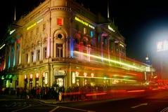 Piccadilly cirkus Royaltyfria Foton