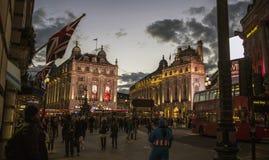 Piccadilly cyrk Zdjęcia Royalty Free