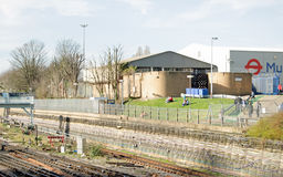 Piccadilly Line Operations Centre, London Royalty Free Stock Photo