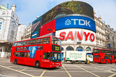 Цирк Piccadilly, london. Великобритания. Стоковая Фотография RF
