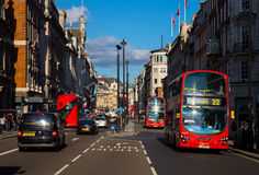 Piccadilly in London Royalty Free Stock Photography