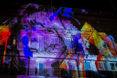 195 Piccadilly by NOVAK at Lumiere Festival stock photo