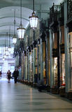 Piccadilly Shopping Arcade in London. Luxury shopping arcade in London Stock Photography