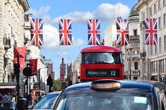 Piccadilly-Transport Lizenzfreie Stockfotos