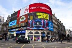 Piccadilly Zirkus in London Lizenzfreie Stockfotos