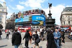 Piccadillycircus Stock Afbeeldingen