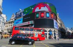 Piccadillycircus in Londen Royalty-vrije Stock Fotografie