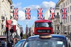 Piccadillyvervoer Royalty-vrije Stock Foto's