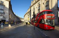 Piccadily马戏清早在伦敦,英国 免版税库存图片