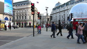 Piccadily Circus stock video
