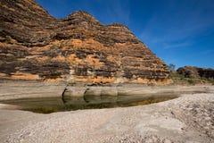Piccaninny zatoczka w porze suchej w fuszerki fuszerce, Rozciąga się, Zdjęcie Royalty Free