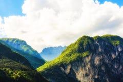 Picchi in alpi italiane Fotografie Stock Libere da Diritti