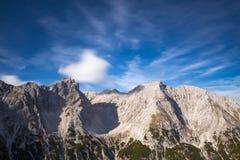 Picchi alpini Fotografia Stock