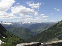 picchi dei ghiacciai Fotografie Stock