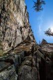 Picchi del pilota Mountain Fotografie Stock Libere da Diritti