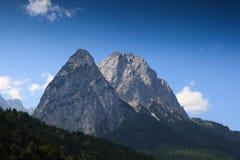 Picchi di alta montagna Fotografia Stock