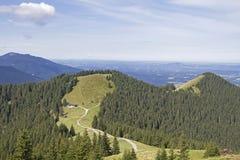 Picchi di Hoernle in Baviera superiore Fotografie Stock