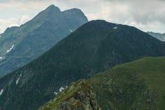 Picchi di montagna Immagini Stock Libere da Diritti