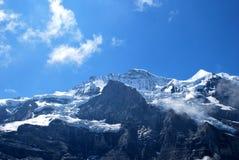 Picchi di montagna Immagini Stock