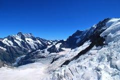 Picchi di montagna Fotografie Stock