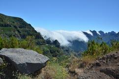 Picchi di montagna del Madera Fotografia Stock Libera da Diritti