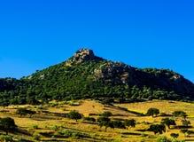 Picchi di montagna nella regione andalusa, landsc tipico della montagna Immagini Stock Libere da Diritti